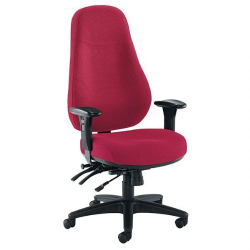 Samson Fabric 24 Hour Heavy Duty Office Chair 24 stone